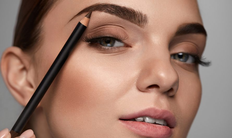 Как правильно рисовать брови: покраска хной