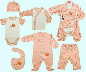 Для новорожденного необходимы комплекты одежды для дома согласно сезону